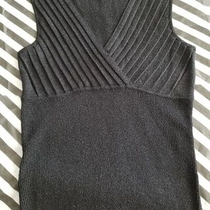 Black subtle metallic  tank